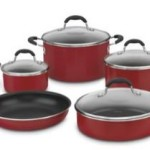 Cuisinart Advantage Nonstick 9-Piece Cookware Set For $49.99 Shipped!