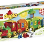 LEGO DUPLO My First Number Train Building Set & My First Playhouse