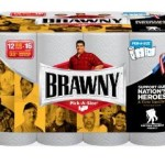 $20 Off At Office Depot = Four 12-packs of Brawny Big Roll Paper Towels For Just $31.96 w/Free Shipping!