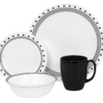 Corelle Livingware 16 piece Dinnerware Sets, Service for 4 From $25.99!