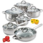 Cook N Home 12-Piece Stainless Steel Cookware Set For $50.99 + Free Shipping!
