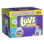 Case Of Luvs With Ultra Leakguards Diapers Only $23.79-$28.44 Shipped! (From Just 9¢ Per Diaper!)