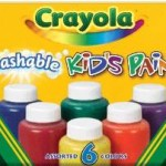 Crayola Washable Kid's Paint (6 count) For $4.79 + Free Shipping!