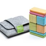 8 Piece Tegu Pocket Pouch Magnetic Wooden Block Set For Just $20!