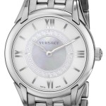 "Versace Women's ""Dafne"" Stainless Steel Dress Watch For Just $479.99 w/Free Shipping!"