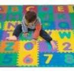 96 PC Foam Floor Alphabet & Number Puzzle Mat For Kids For Just $35.99 w/Free Shipping!
