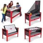 Majik 48″ 5 in 1 Swivel Game Table For Just $49!