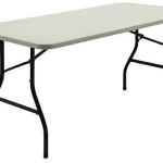 Northwest Territory 6-ft Folding Table – $37.99!