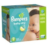 Large Case Of Pampers Diapers Just $29.79 w/Free Shipping!