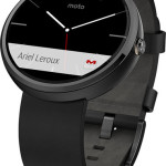 Motorola Moto 360 Smart Watch for Android Devices On Sale From Only $149.99 w/Free Shipping!
