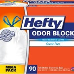 Hefty Odor Block Tall Kitchen Trash Bags, 90 Count For Just $9.45-$10.91 w/Free Shipping!