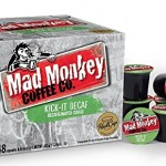 Mad Monkey Coffee K-Cup Capsules, 48 Count For $16.99-$18.99 w/Free Shipping