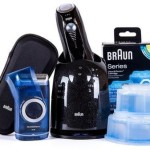 Limited Edition Braun Series 760 Clean & Renew Shaver System, Plus Bonus – 1 Travel shaver, 2 Cleaning Cartridges For Just $120 Shipped!