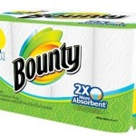 Bounty Select-A-Size White Paper Towels 12 Giant Rolls For $11.99 Shipped