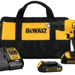 DEWALT 20V MAX Li-Ion 1/2″ Compact Drill Driver Kit (Refurbished) w/2 Batteries Only $69.99 + Free Shipping!