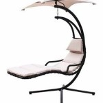 Hanging Chaise Lounger Canopy Chair Hammock – $179.95 Shipped