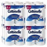 Cottonelle Clean Care Double Rolls, 8-Packs of 4 Count (32 Rolls) For $32¢ – 38¢ Per Roll w/Free Shipping!