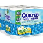 Quilted Northern Ultra Soft and Strong Bath Tissue, 36 Mega Rolls = 96 Regular Rolls Just $13.74-$16.24 Shipped!