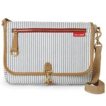 Skip Hop Soho Cross-Body Diaper Clutch, French Stripe, At Just $23.99