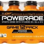 12-Pack of POWERADE 12 FL OZ Bottles For Just $3.60! (Add-on Item)
