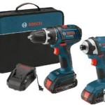 Bosch 18-Volt Lithium-Ion 2-Tool Combo Kit with 1/2-Inch Compact Tough Drill/Driver & Impact Driver Just $154 Shipped!