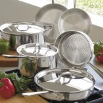 All-Clad 9-pc. Stainless Steel Cookware Set – $364.99 w/Free Shipping