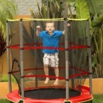AirZone 55-Inch Trampoline & Enclosure For $63.51 w/Free Shipping!