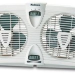 Holmes Twin Window Fan with Manual Thermostat For Only $19.50 Shipped!