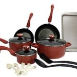 Paula Deen 15-Piece Kitchen Nonstick Cookware Set For $69.99 w/Free Shipping!