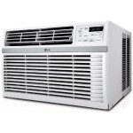 LG 8000 BTU Energy Star 115-volt Window-Mounted Refurbished Air Conditioner with Remote Control Just $159.99!