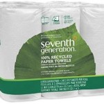4 Packs of 6-Count 2-Ply Seventh Generation White Paper Towels For As Low As $27 Shipped!