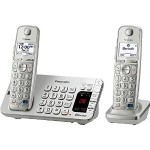 Panasonic Link2Cell Bluetooth Enabled Phone with Answering Machine & 2 Cordless Handsets Just $67.46!