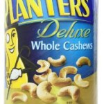 18.25 Ounce Canister of Planters Deluxe Whole Cashews For Just $5.64-$6.51 Shipped!