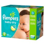 Get 6-Boxes of Pampers Giant Pack Diapers + An $85 Gift Card For Just $209 Shipped!