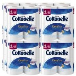 Pack Of 32 Cottonelle Clean Care Toilet Paper Double Rolls For Just $13.80-$15.66 Shipped
