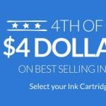 4inkjets: $4 Ink Cartridge Sale + Free Shipping