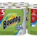 Bounty Select-A-Size Paper Towels Huge Rolls, 12 Count For $18.39-$20.17 (Equivalent to 30 Regular Rolls)