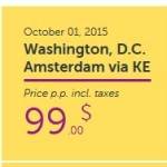 Wow Air: Boston or Washington D.C. to Dublin, Amsterdam or Paris For Only $99!