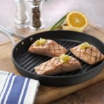 Calphalon Unison Nonstick 12-Inch Round Grill Pan Just $29.97!
