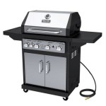 Dyna-Glo 4 Burner Natural Gas Black & Stainless Premium Grill For Only $317 w/Free Shipping!