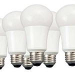 60-Watt Equivalent Daylight LED Light Bulbs 6-Pack For Only $16.29!