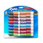 16-Pack of Expo 2 Low-Odor Dry Erase Markers For Just $9!