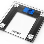 Mosiso High Accuracy Digital Bathroom Scale with 4.3″ Backlight Display For $18