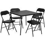 Flash Furniture 5-Piece Folding Table and Chair Set For $59.99 & Free Shipping