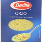 Pack of 8 Barilla Pasta Orzo 16 Ounce Boxes For Only 74¢-85¢ Per Box w/Free Shipping!