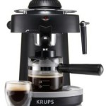KRUPS  Steam Espresso Machine with Frothing Nozzle for Cappuccino Only $29.99
