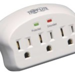 Tripp Lite Outlet Direct Plug-In, 660 Joules Surge Suppressor Only $5.99