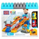 Mega Bloks First Builders Fast Tracks Raceway 50pcs Only $12.99