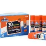 Pack of 30 Elmer's Washable All-Purpose School Glue Sticks Just $8.49