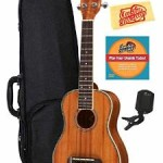 Oscar Schmidt Ukulele Bundle with Gearlux Case For Only $147 w/ Free Shipping!